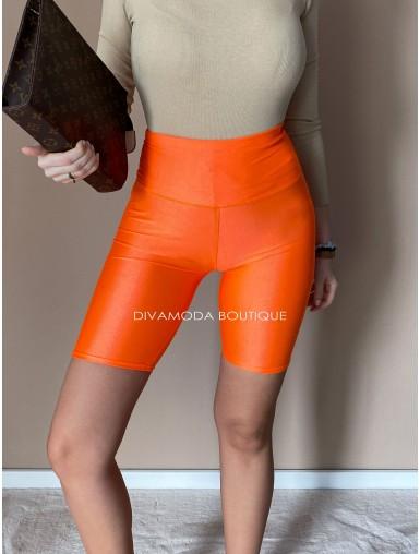 Metalické cyklisťaky orange D 197
