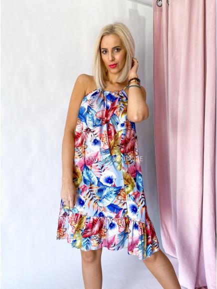 Šaty tropic kvetované Mod-bord M 28