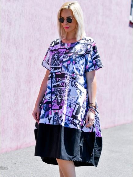 Oversize šaty Magazin M 76
