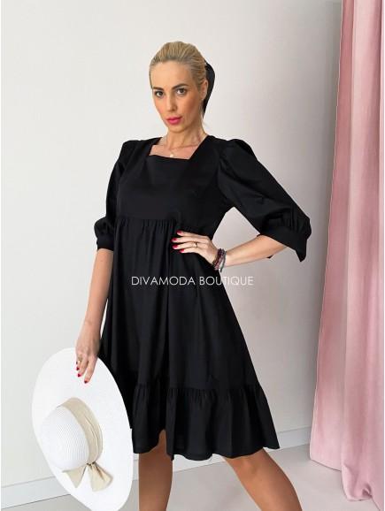 Šaty amanda čierne M 87