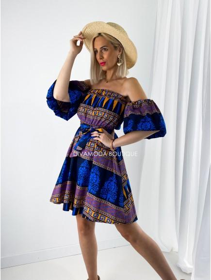 Šaty etno mod.OR M 176