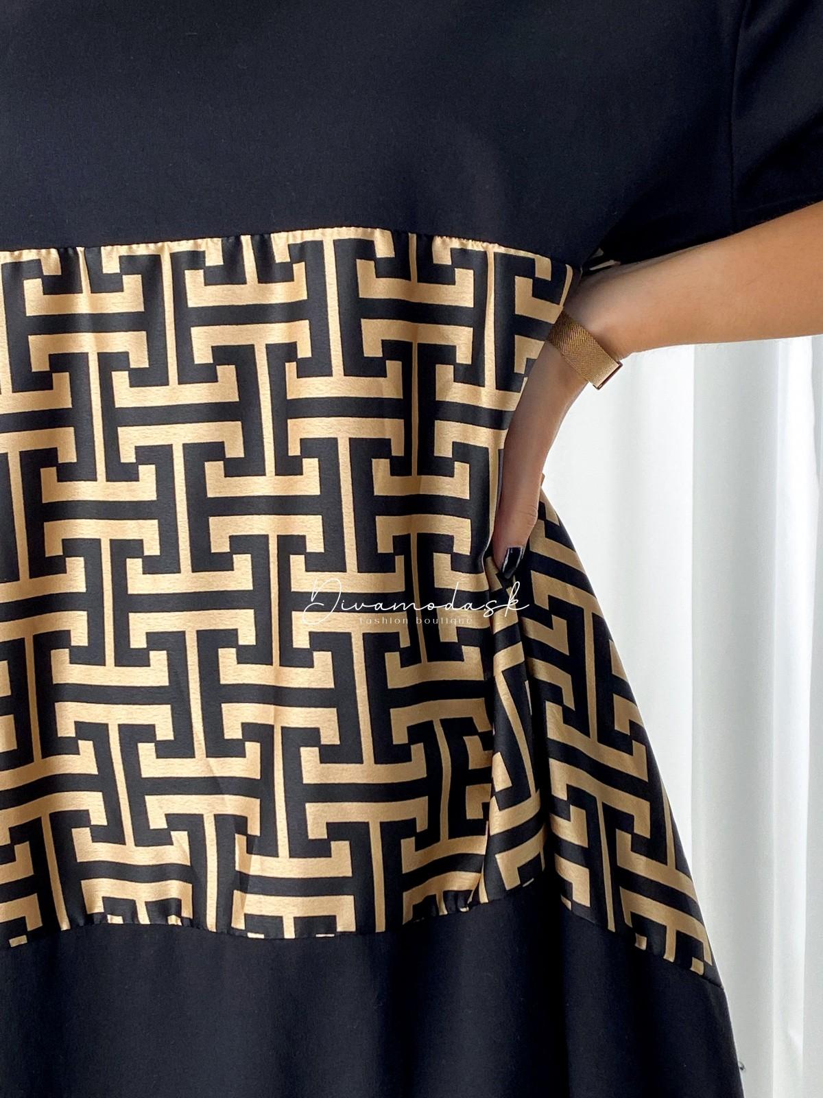 Oversize šaty FF A 102