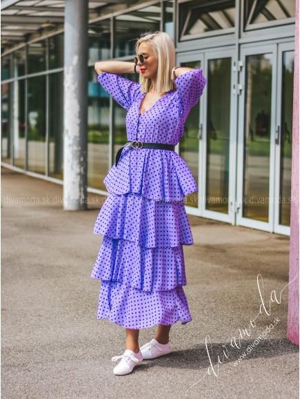 Maxi šaty bodkované dottie B 232