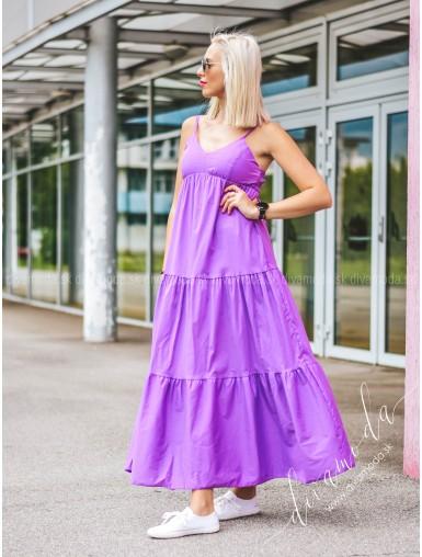 Maxi šaty na ramiena Dionaa B 242